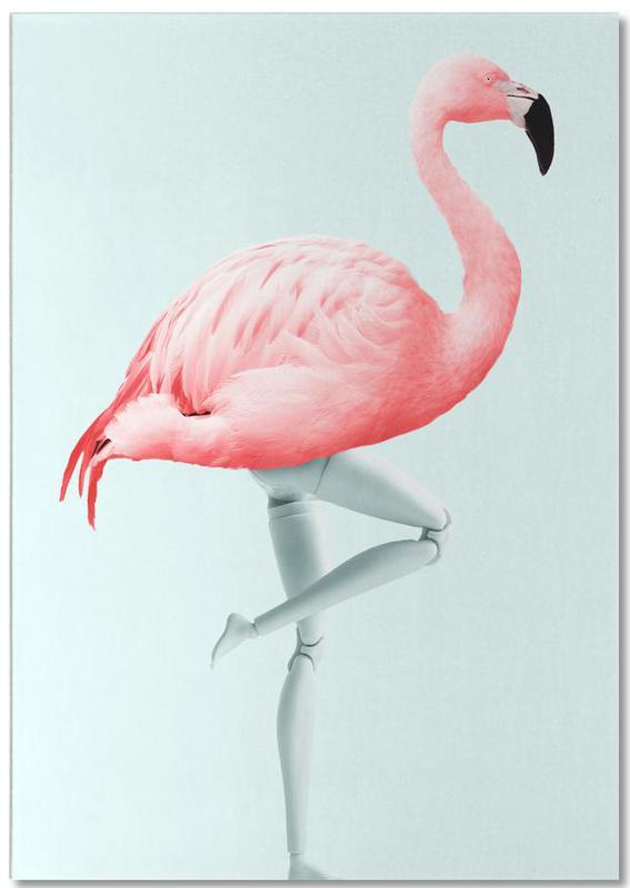 Flamingo Mannequin Notepad