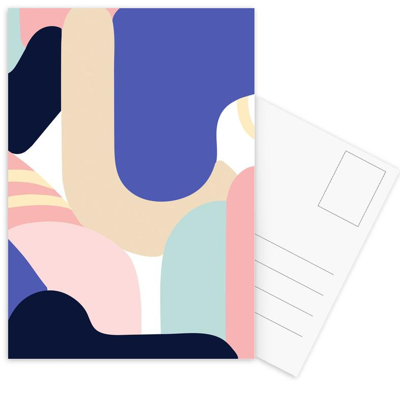, Blue Monday cartes postales