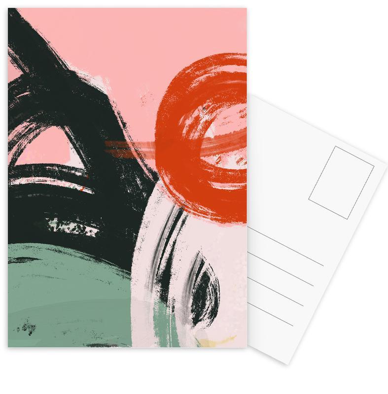 , Brushed cartes postales