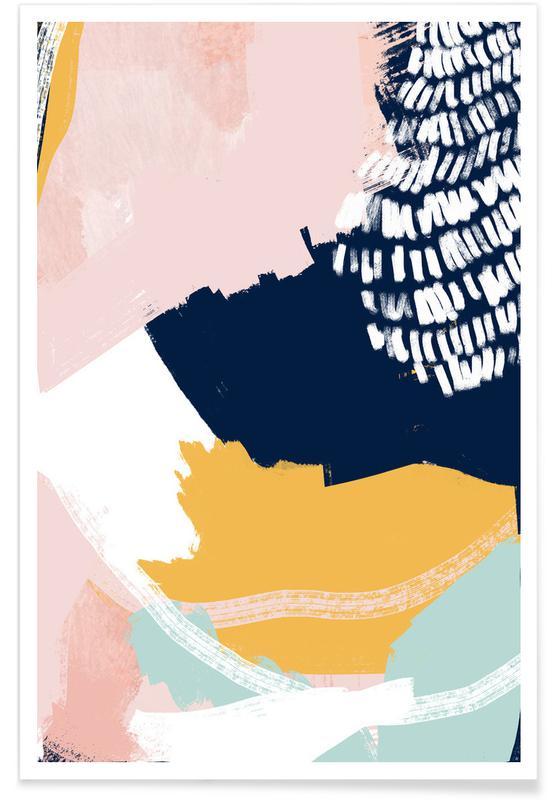 , Pastel Cloth Poster
