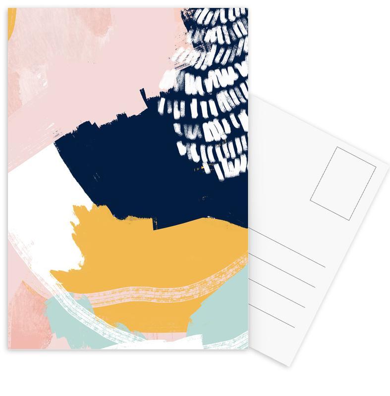, Pastel Cloth cartes postales