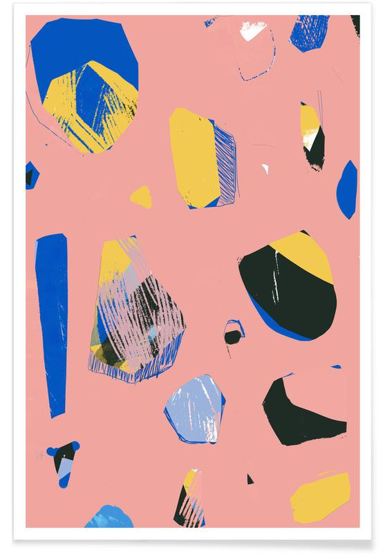 , Rocks In Pink -Poster