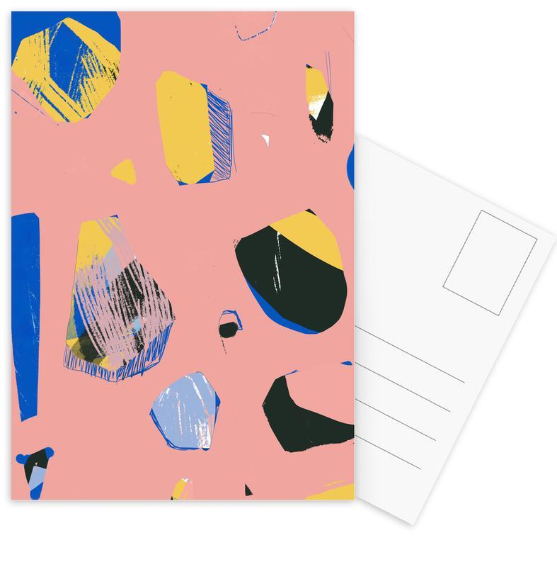 , Rocks In Pink cartes postales