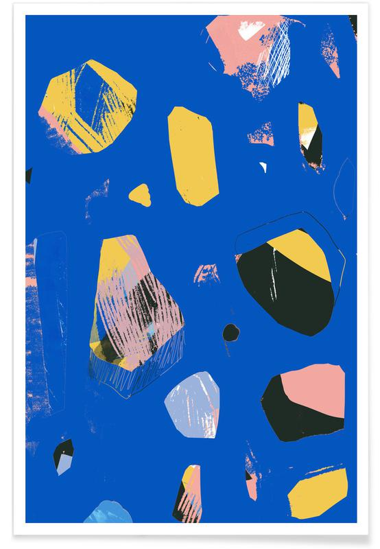 , Rocks In Blue poster