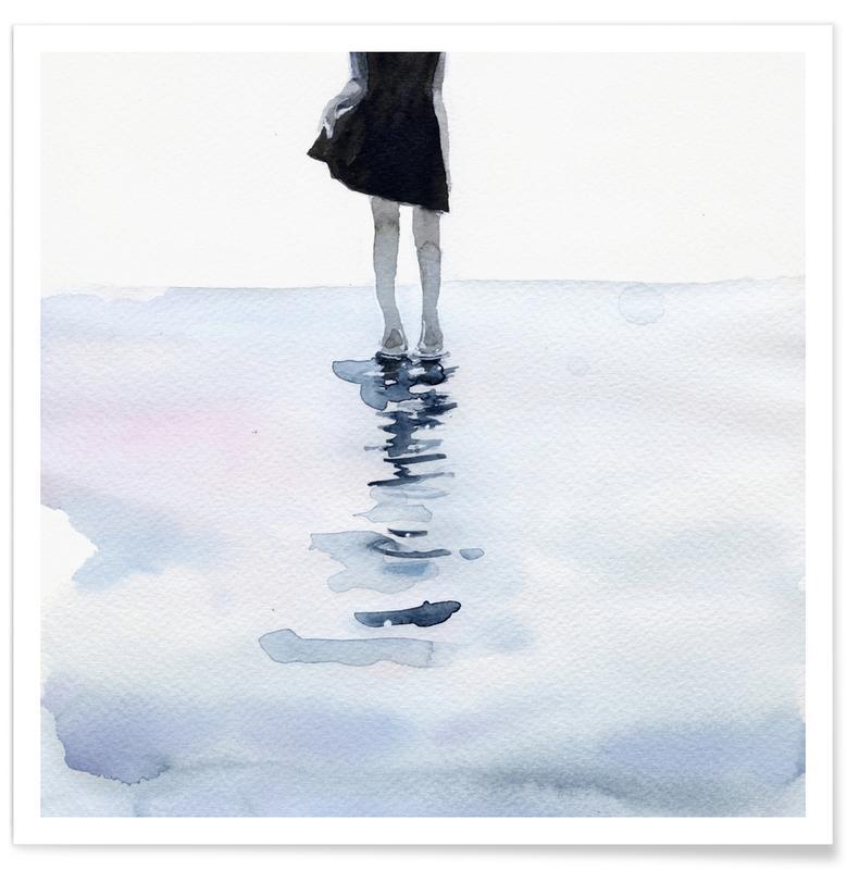 Dreamy, All Around the Sea Poster