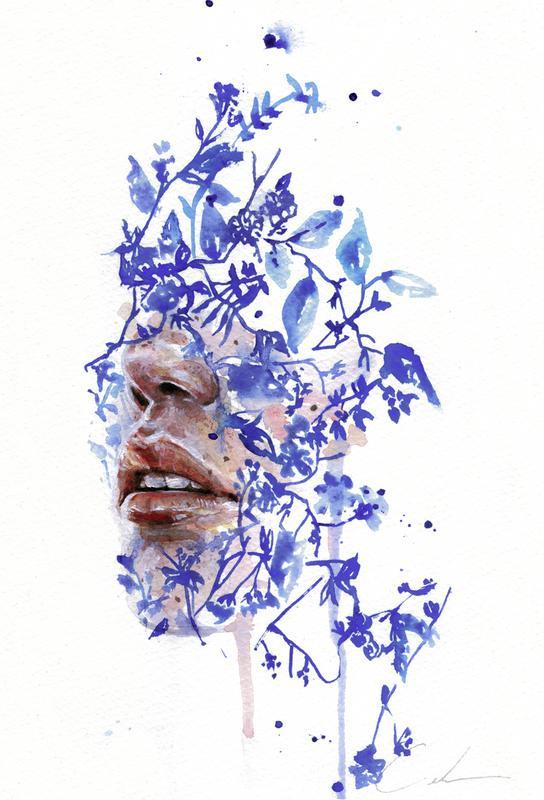 Garden IV acrylglas print