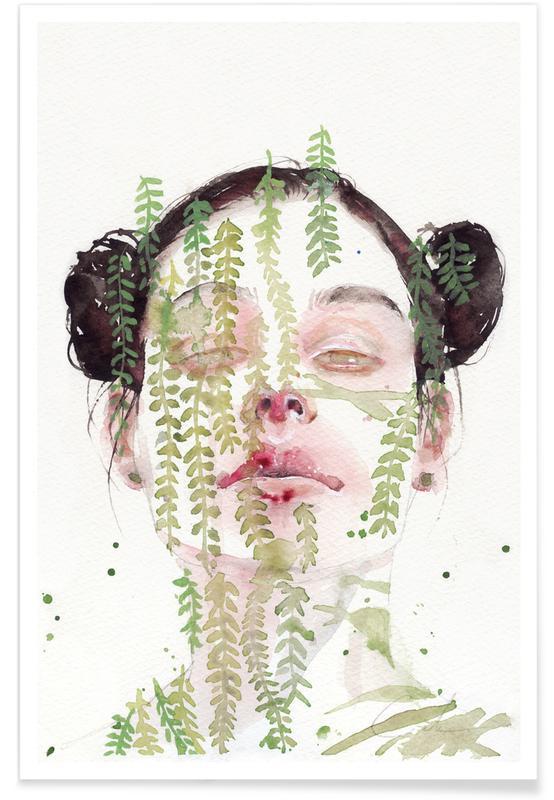 Garden IX Poster