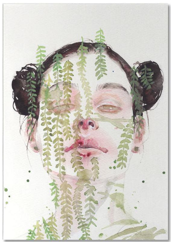 Dreamy, Portraits, Garden IX Notepad