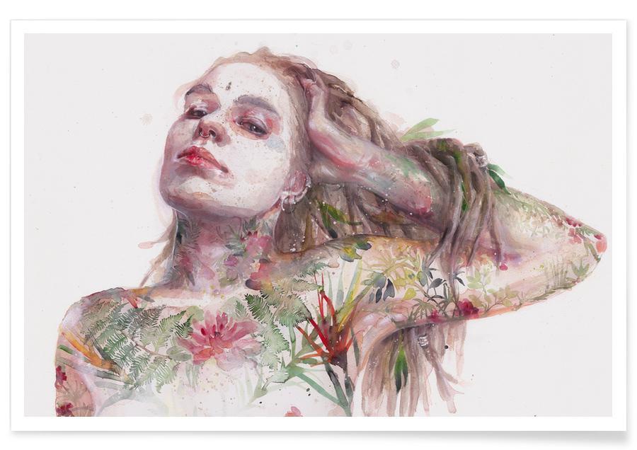 Rêve, Leaves on Skin affiche