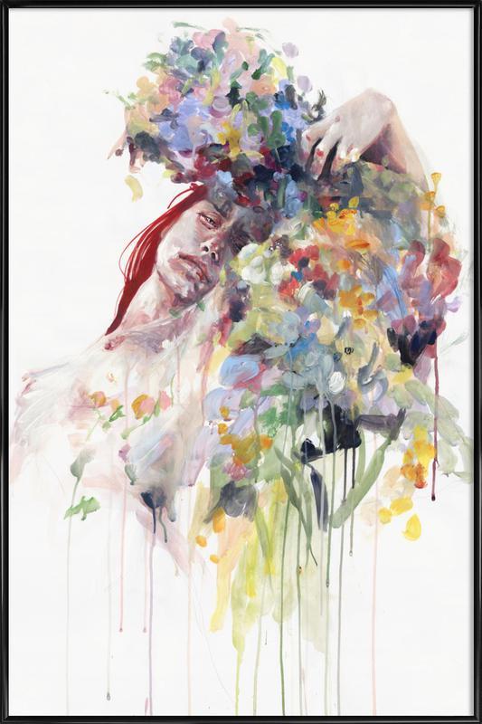 Scentless Flowers Framed Poster