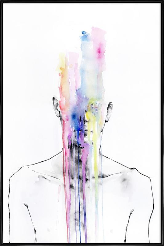 All My Art Is on You ingelijste poster