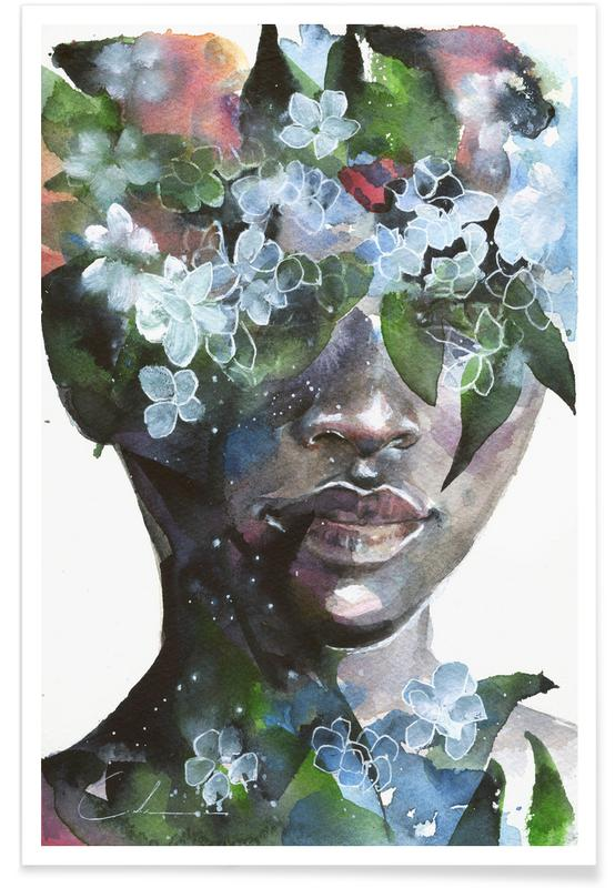 Portraits, Garden II affiche