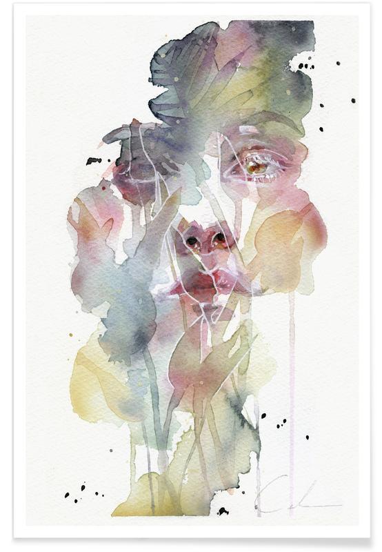 Porträts, Garden VI -Poster