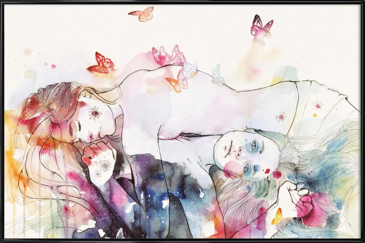 Dreamy Insomnia Framed Poster