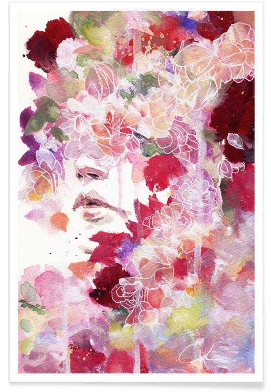 Dreamy, Garden IV Poster