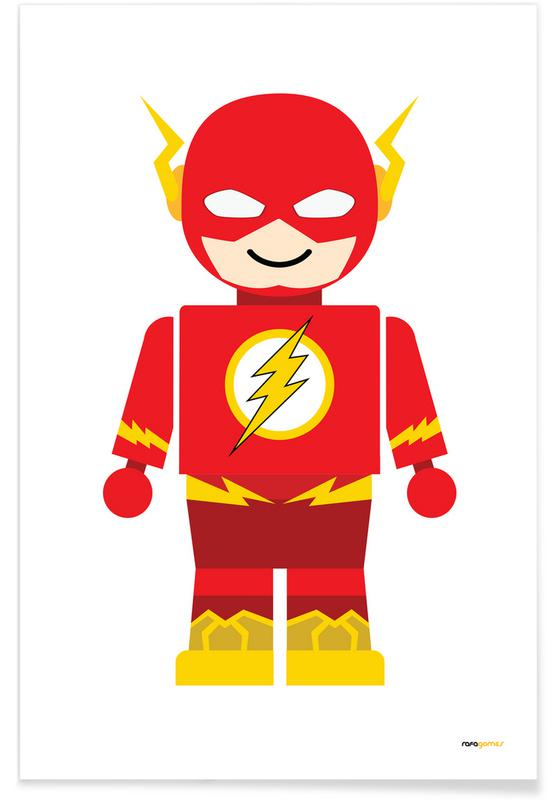 Art pour enfants, Flash Toy affiche
