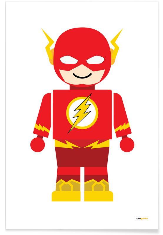 Kunst voor kinderen, Flash Toy poster