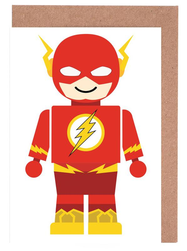 Kunst voor kinderen, Flash Toy wenskaartenset