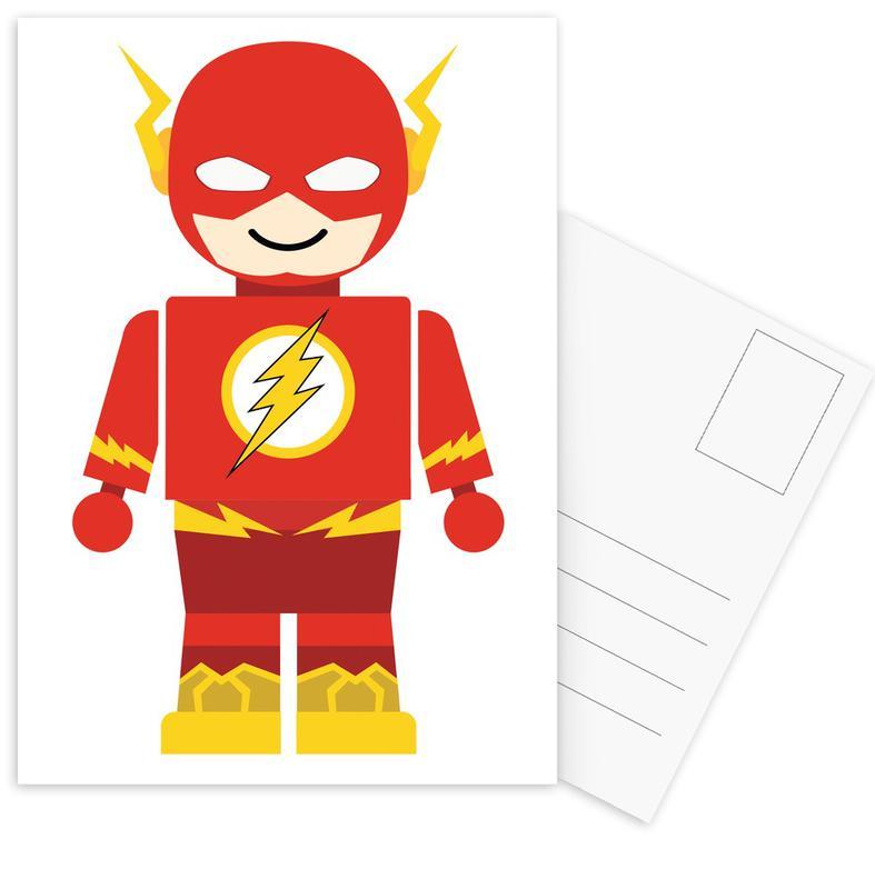 Nursery & Art for Kids, Flash Toy Postcard Set