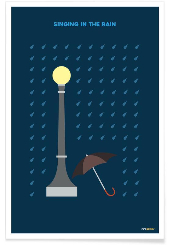 Films, Tv-series, Singing in the Rain poster