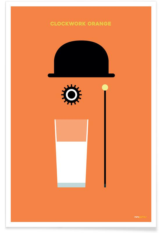 Filme, Serien, Clockwork -Poster