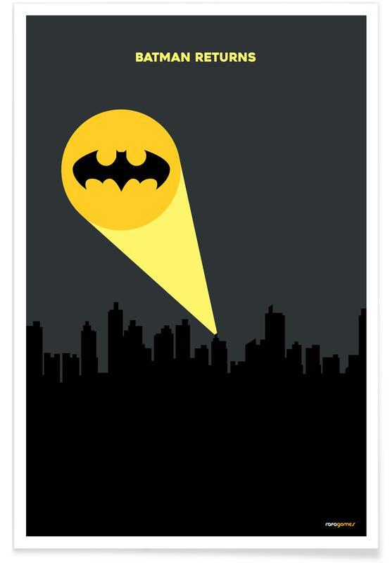 Filme, Serien, Bat -Poster