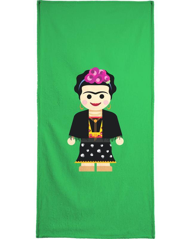 Art pour enfants, Frida Kahlo, Frida Toy serviette de plage