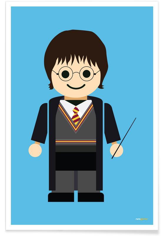 Films, Kunst voor kinderen, Harry Potter Toy poster