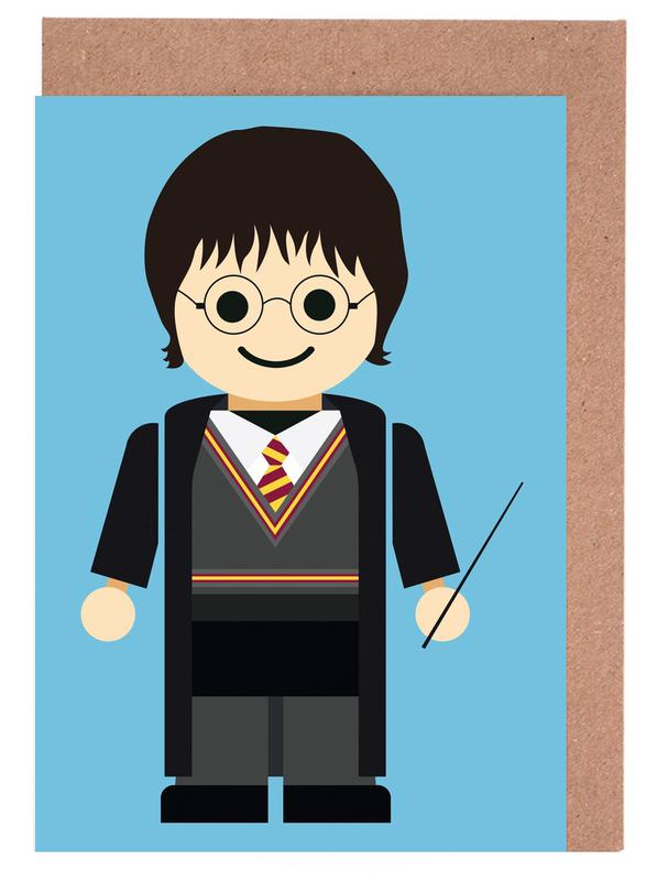 Harry Potter Toy Greeting Card Set