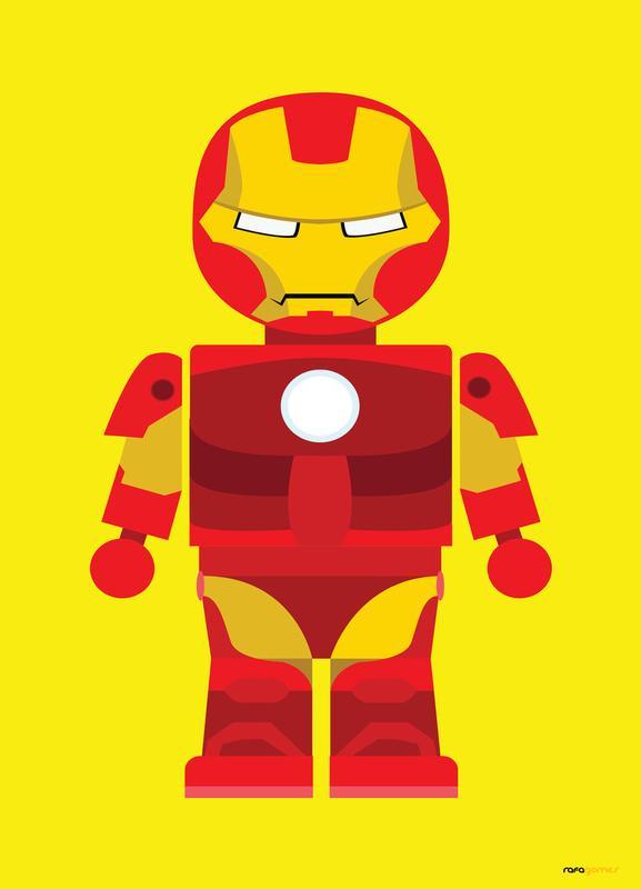 Iron Man Toy Canvas Print