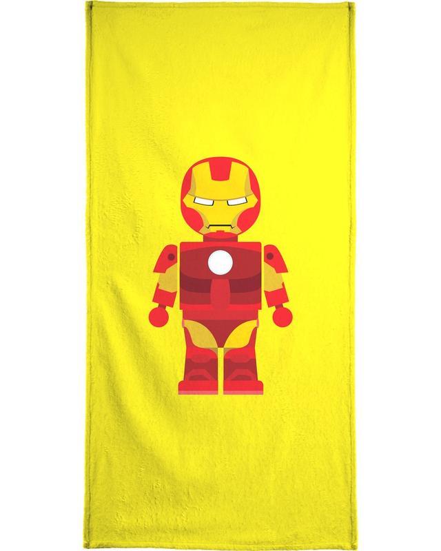 Iron Man Toy -Handtuch