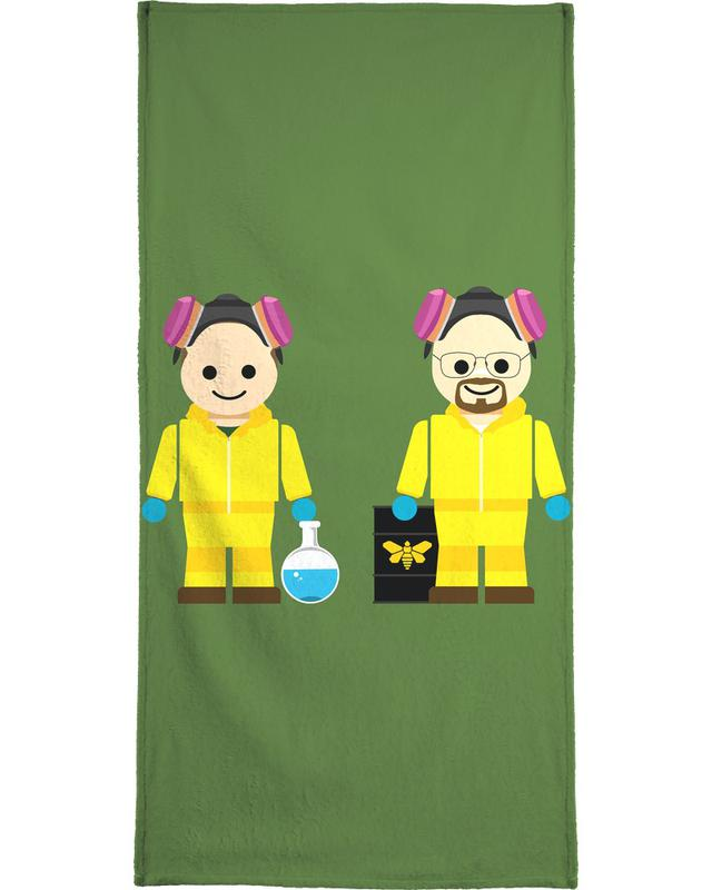 Pinkman and Heisenberg Toy -Handtuch