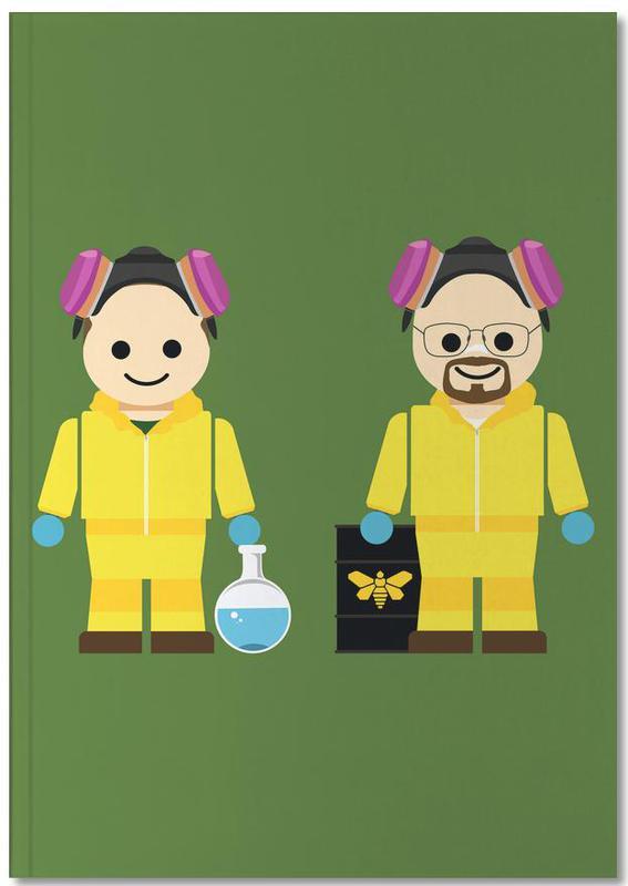 Serien, Pinkman and Heisenberg Toy Notebook