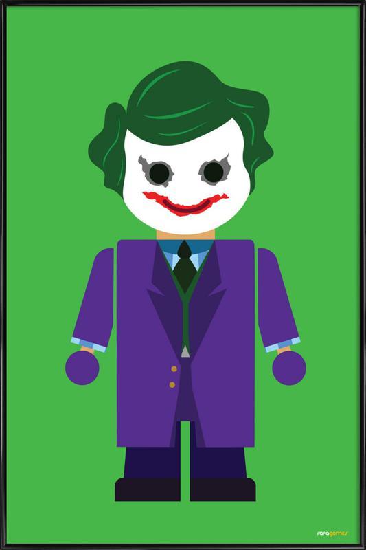 Joker Toy -Bild mit Kunststoffrahmen