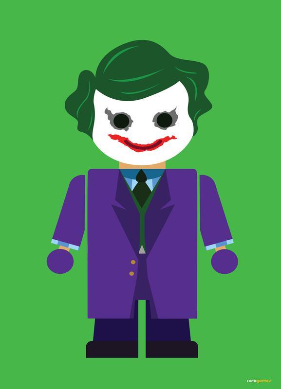 Joker Toy Canvas Print