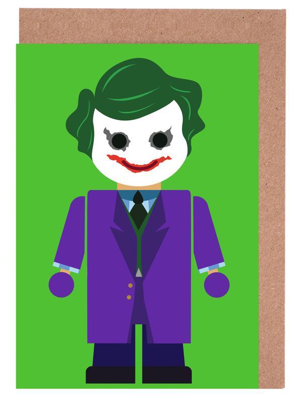 Joker Toy Greeting Card Set