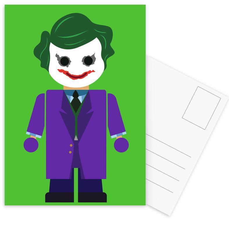 Joker, Joker Toy Postcard Set
