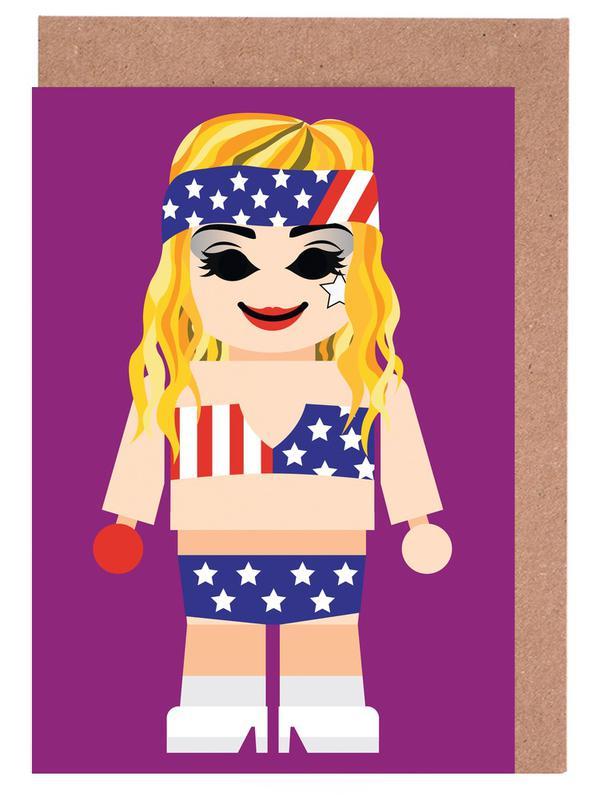 , Lady Gaga Toy wenskaartenset
