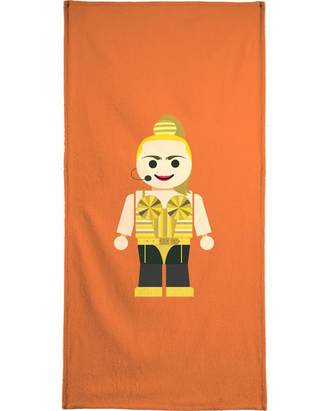Madonna Toy Beach Towel