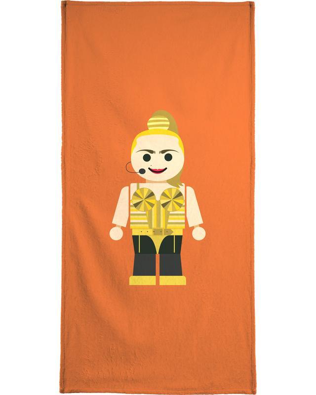 Madonna Toy Bath Towel
