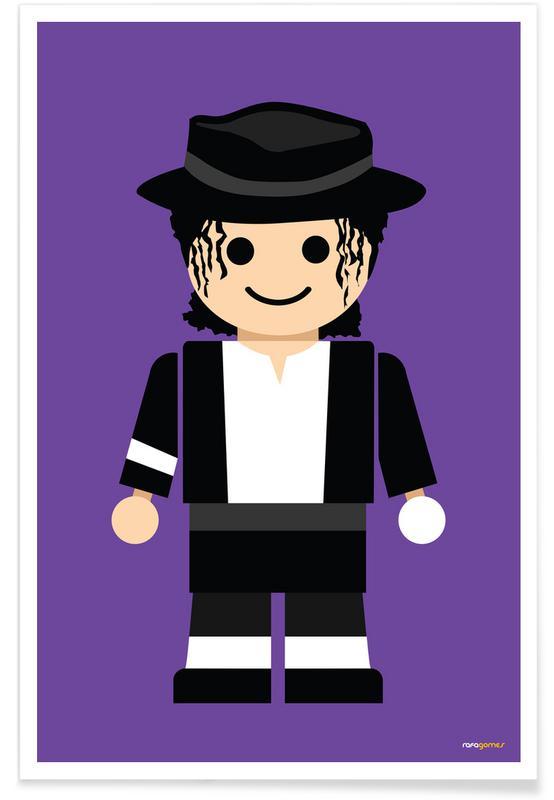 , Michael Jackson Toy poster