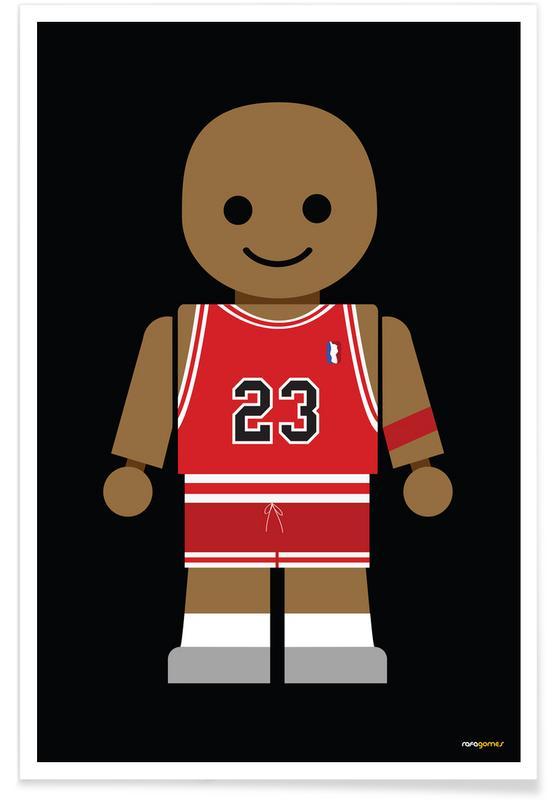, Michael Jordan Toy poster