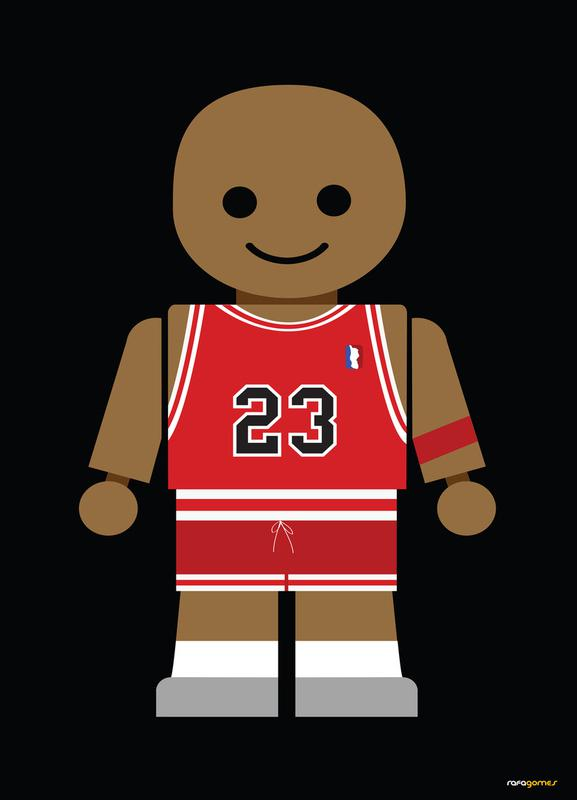 Michael Jordan Toy Canvas Print