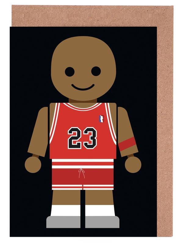 , Michael Jordan Toy wenskaartenset