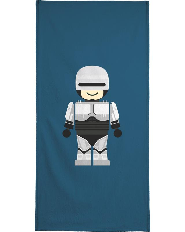 Robocop Toy Bath Towel