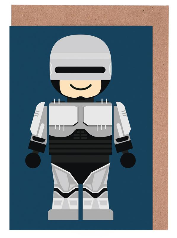 Kunst voor kinderen, Robocop Toy wenskaartenset