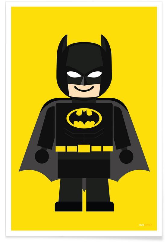 Batman, Art pour enfants, Batman Toy affiche