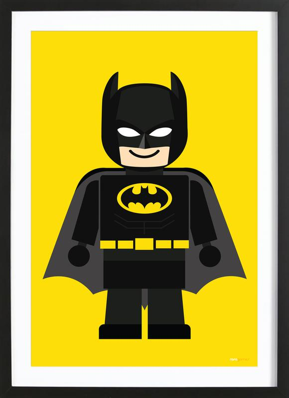 Batman Toy ingelijste print