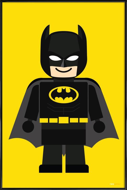 Batman Toy affiche encadrée
