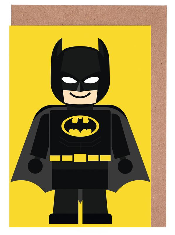 Batman Toy -Grußkarten-Set